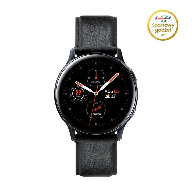 Samsung Galaxy Watch Active 2 Stal Czarny LTE 40mm (SM-R835FSKAXEO) /OUTLET